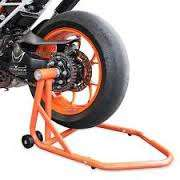 Ktm super duke R paddock stands