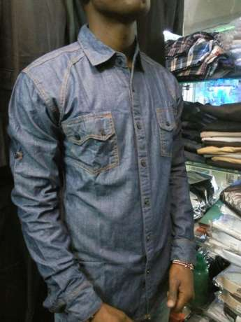 Slim-fit Denim Shirts Nairobi CBD - image 2