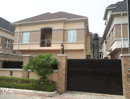 Fully Detached 6 bedroom duplex for sale in Chevy View Estate with BQ