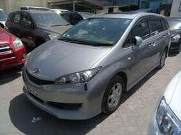 Toyota Wish with Sunroof 2010 model KCM number Loaded with alloy