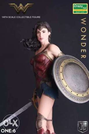 26cm wonder woman pvc action figure