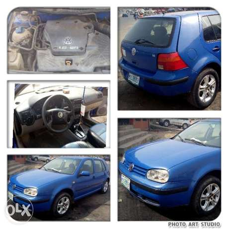 Auto golf 4,small engine 4plugs 1.6ltrs,low fuel&very clean Ibadan - image 1