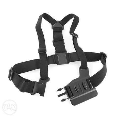 Chest Strap mount belt for Gopro hero And Action Cameras جونيه -  5