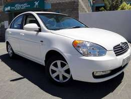 2007 hyundai accent 1.6ifull house