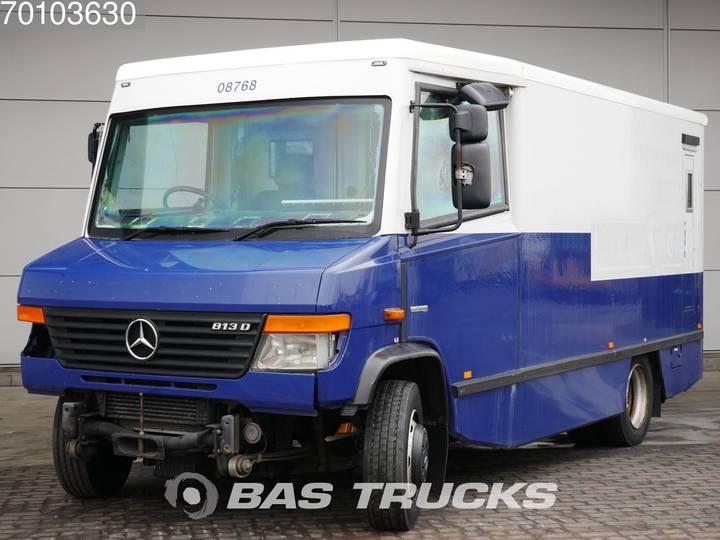 Mercedes-Benz Vario 813D 4X2 ENGINE-BROKEN! Money Truck / Geldtransport... - 2008