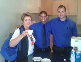 Hirsch's spoil staff of Hendrik Louw Primary School