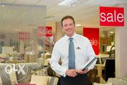 Salesperson needed at a furniture showroom in champion junction akure
