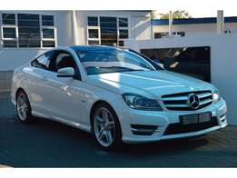 Mercedes-Benz C-Class C250CDI coupe in an excellent condition.