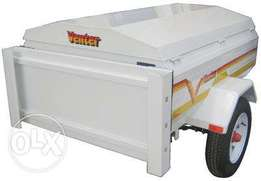 Venter trailer vertical stand