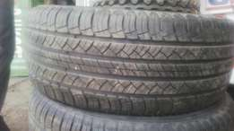 255/55/18 Michelin tyres, 30,000