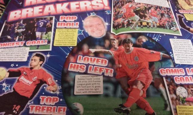 Описание футбольного журнала на английском