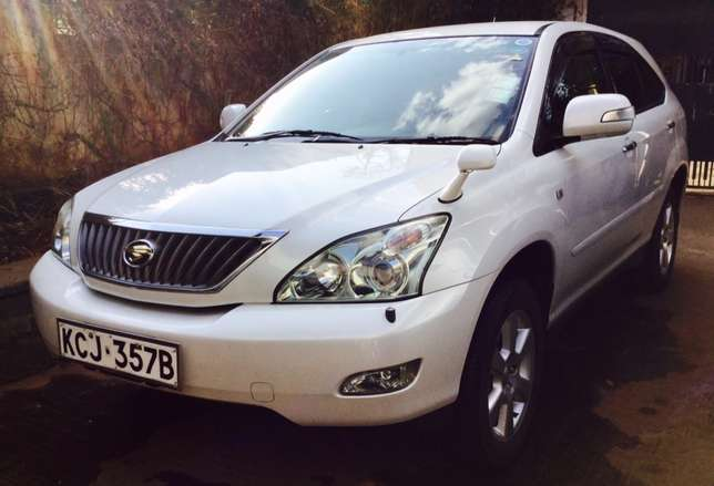 toyota harrier 2010 just arrived 2,650,000/= ONLY KCJ LOADED Highridge - image 2