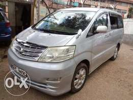 Clean 2006 Toyota Alphard better than Boxy, Serena and Noah