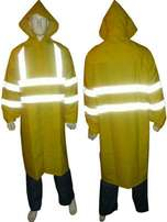 Raincoat with reflectors