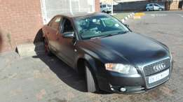 Immaculate condition audi a4 matt black