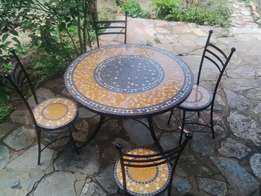 Patio Mosaic Furniture For Sale