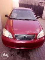 Very neat tokunbo Toyota corolla, nothing to worry just buy and drive