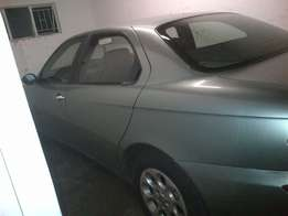 2001 model alfa 156 ,2l te swop for small car the car or 23.000 neg