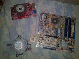 Computer mother board with 3ghz processor ,VGA. Affordable price .