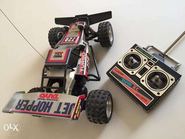 Remote Control Buggy - Tyco Turbo Mini RC buggy - GREY