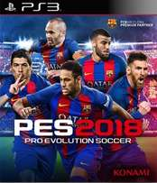 Ps3 Game Pes 2018