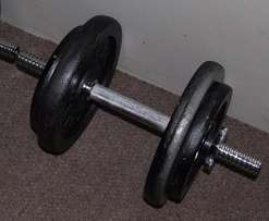 Dumbbell Weights & bars