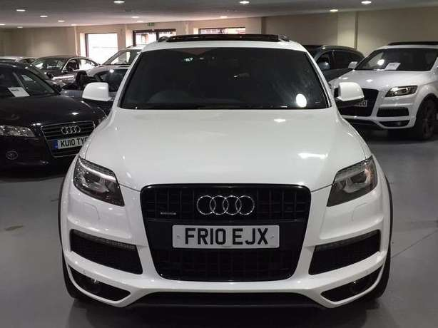 2010 Audi Q7 3.0 SLine diesel* Full Panoramic roof, 7seats, Fuji white Nairobi West - image 2