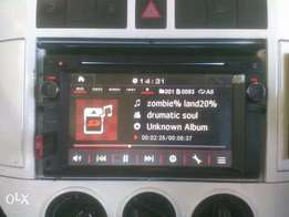 """Nakamichi double din deck 7"""" for sale"""