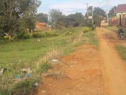 A residential plot for sale at 55m in bweyogerere kirinya on 50x100ft