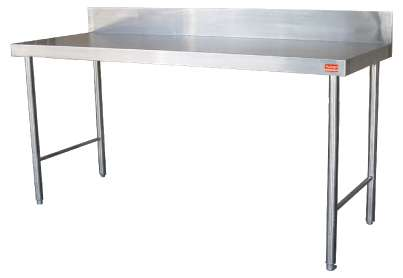 Prep table w/o flash back 2.4m stainless steel Lenasia-Suid - image 1