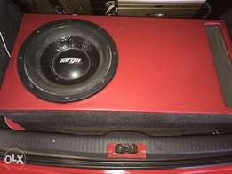 Targa sub and amp