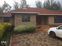 Three bedroom cottage all ensuite with two SQ for Rent in Karen