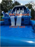 Slide,clowns,face painting,water slides,mascots,clown for hire mascot