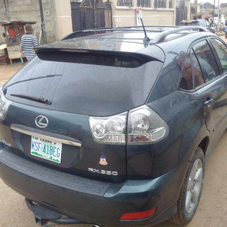 Just Registered 2004 Lexus RX300 (NAVIGATION/REVERSE CAMERA) Ikeja - image 1