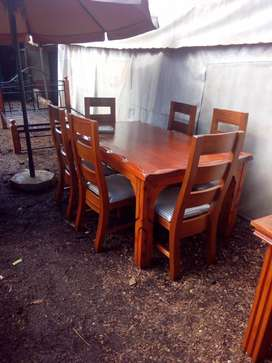 Kenya 6 Seater Dining Table Solid