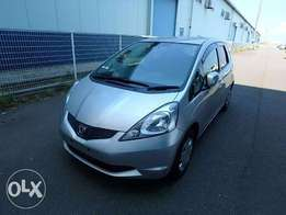 Honda Fit Year 2010 Model Automatic Transmission 2WD Silver Color