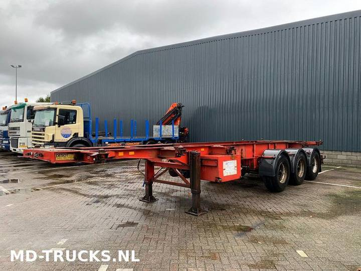 Desot container chassis 20 30 40 ft