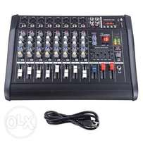 8 channel mixer amplifier for sale