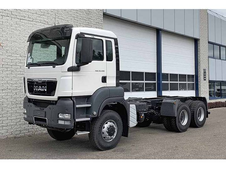 MAN TGS 33.400 BB-WW 6X6 CHASSIS CABIN (5 units)