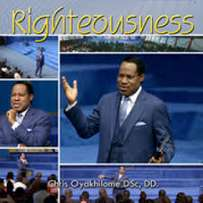 Righteousness DVD by Pastor Chris