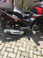 Almost new kymstone ky200-16 motorcycle for sale.