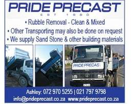 Pride Precast Rubble Removal