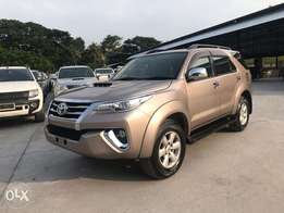 Lovely fortuner 2016 facelift