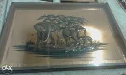 coffee table + 4 side tables R 3000