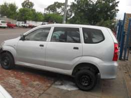 Toyota Avanza Now Stripping for Spares