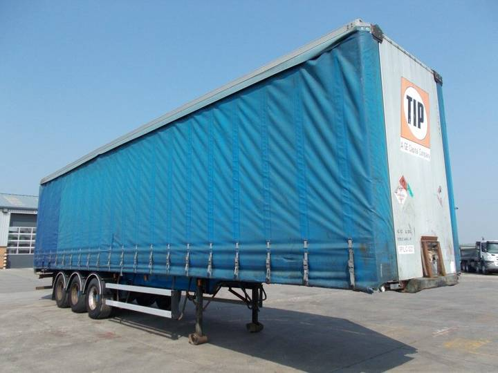 Frühauf 45FT CURTAINSIDE TRAILER - 1997 - A256300 - 1997