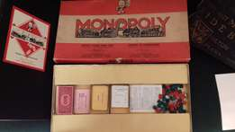 Monopoly Board Game by John Waddington from the Sixties.