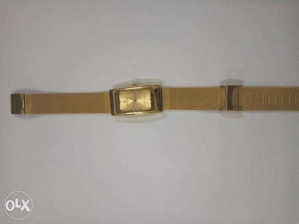 Gold plated Ladies watch
