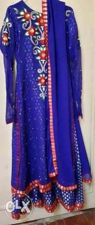 Full embroidery Fancy Maxi