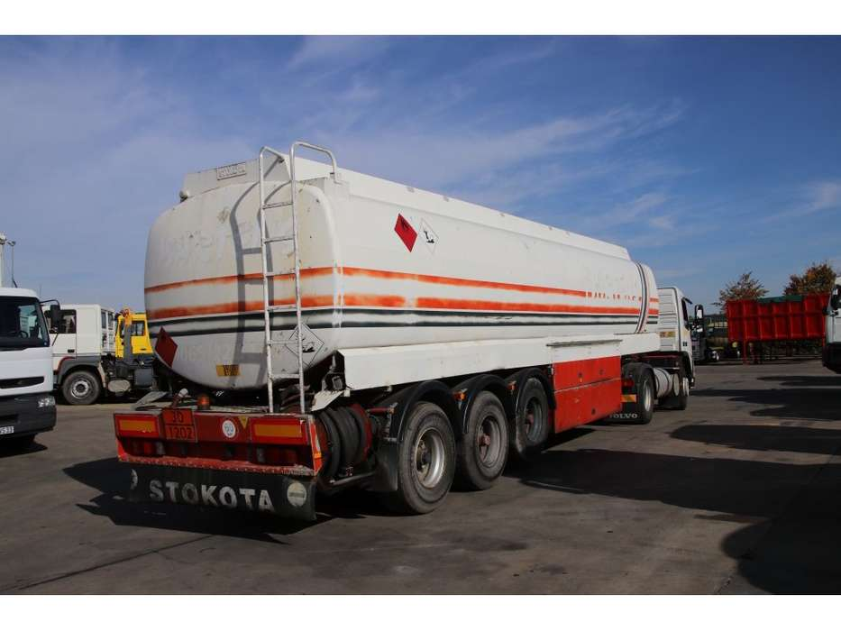 Stokota TANK 40.000 L ( 5 comp. ) DIESEL/FUEL/GASOIL - 1996 - image 3